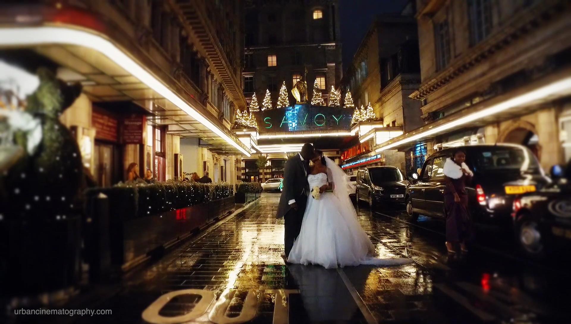 The Savoy Hotel Wedding