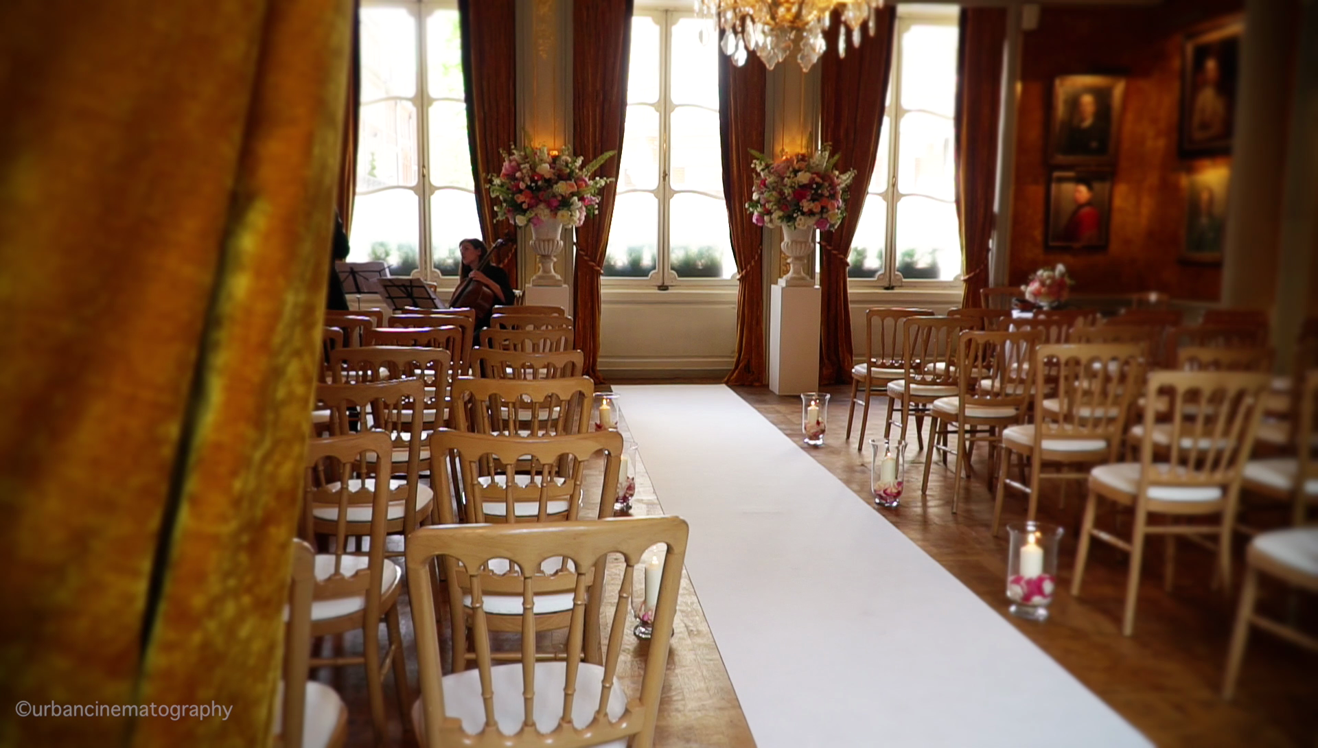 Ceremony Wedding Videography The Savile Club London
