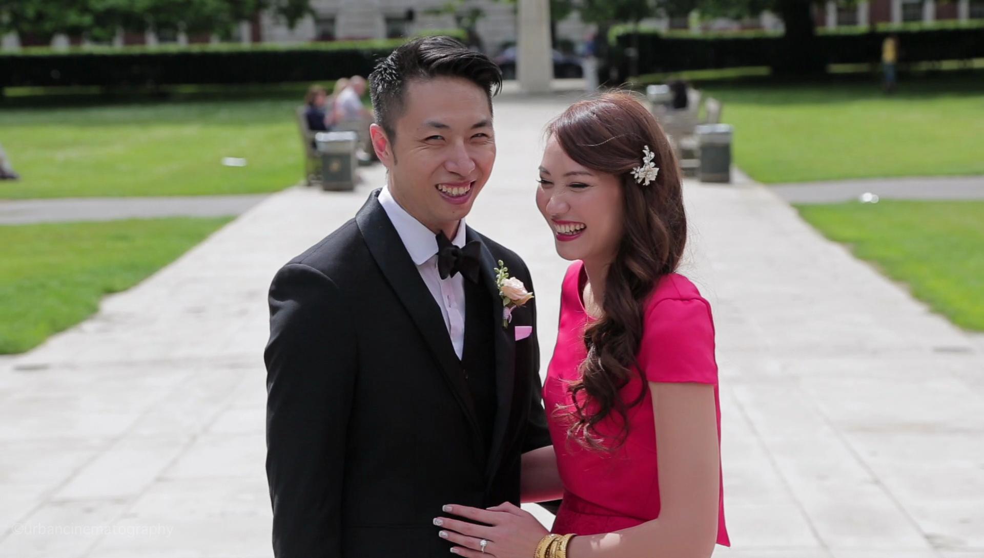 Grosvenor Square Wedding Videography London