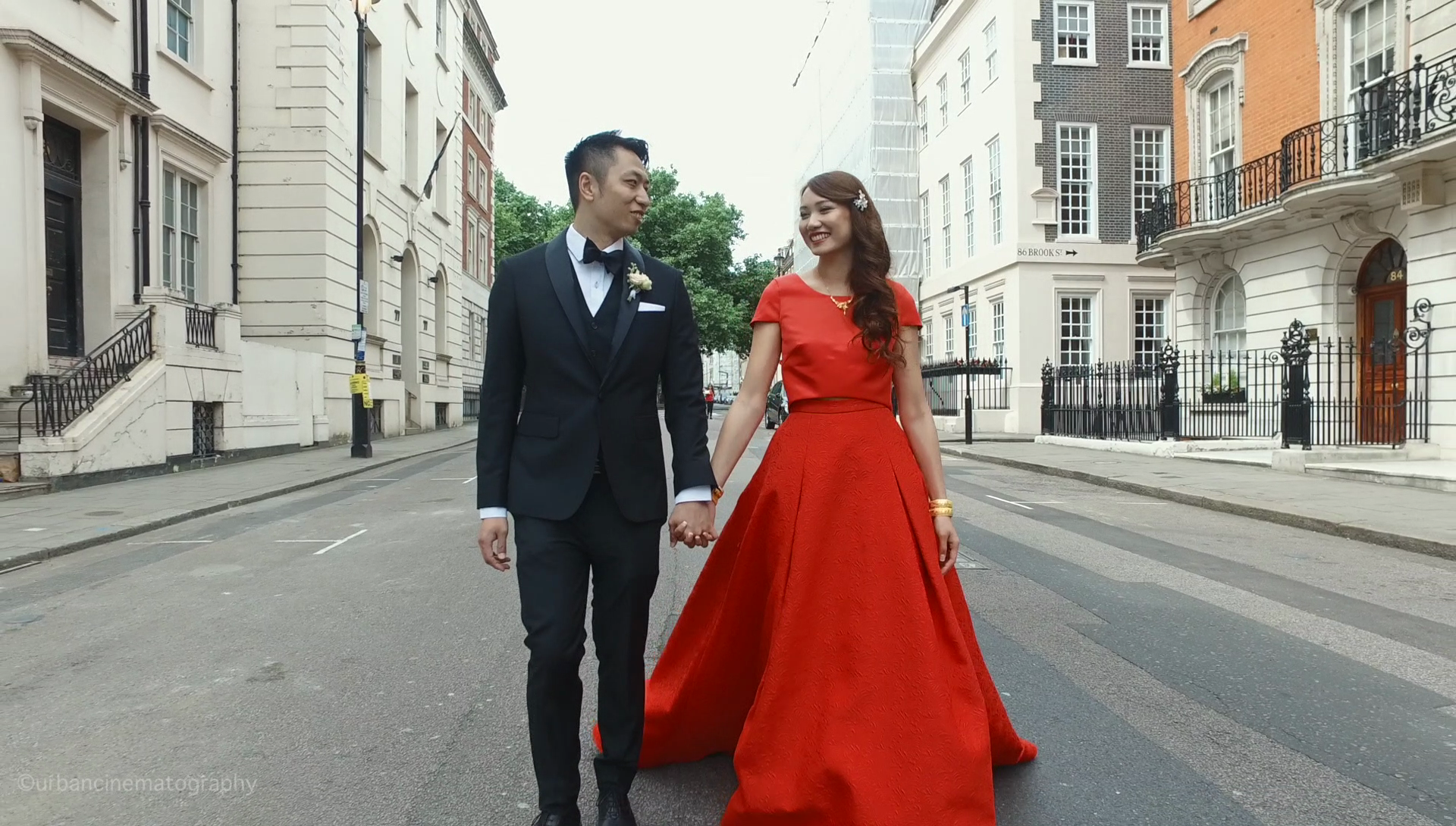 Wedding videography Savile Club London