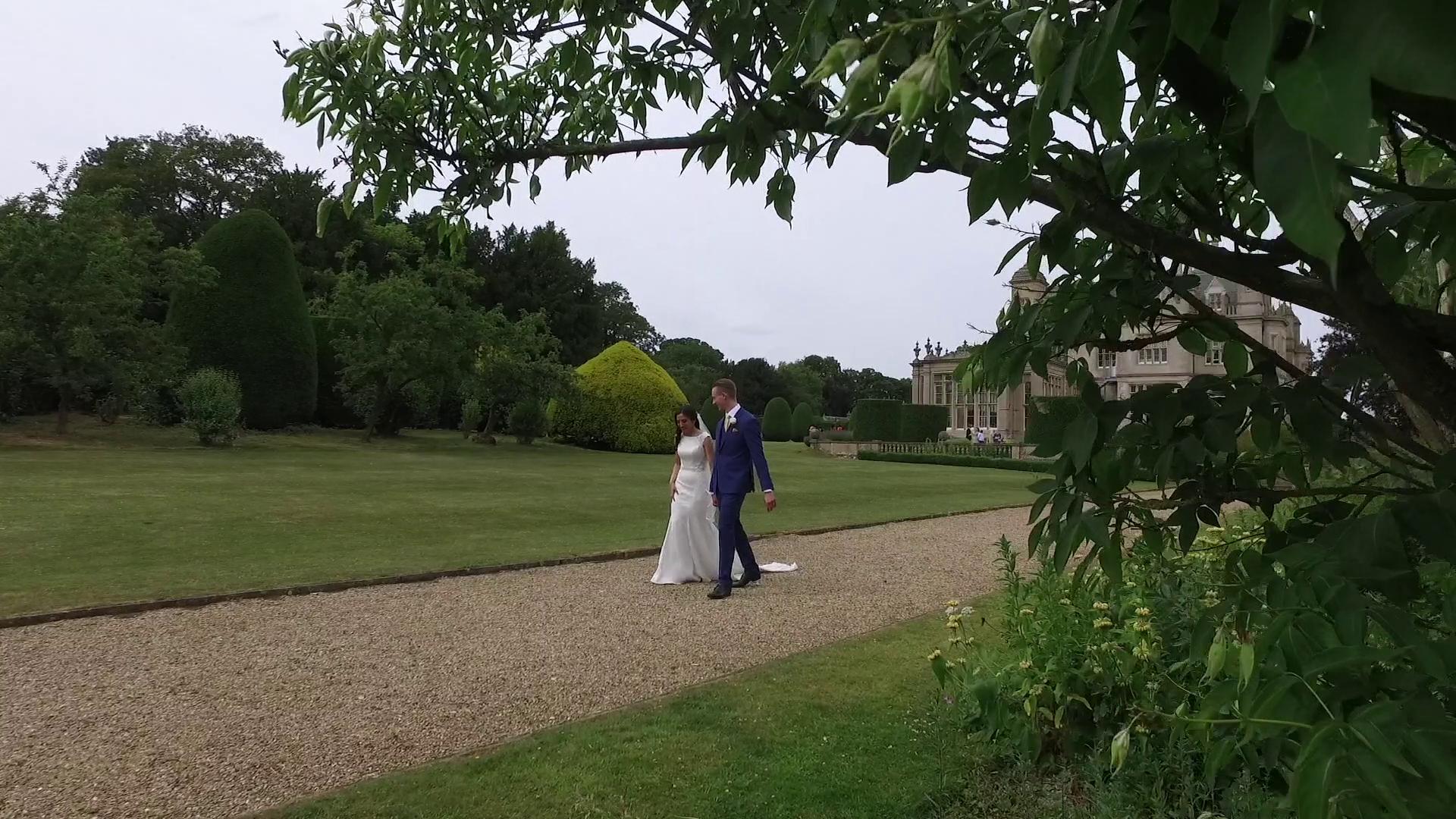 Stoke Rochford Hall Wedding Videographer