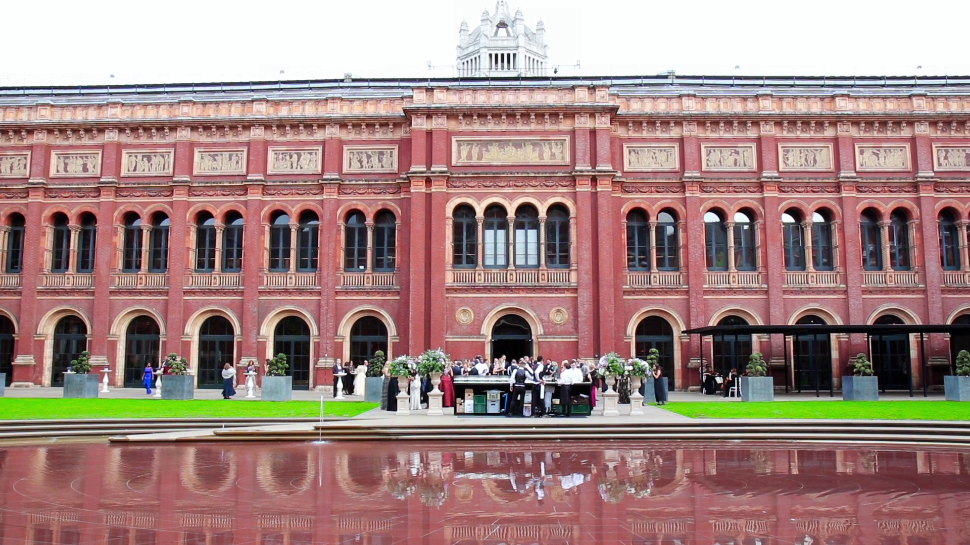 Victoria and Albert Museum Wedding