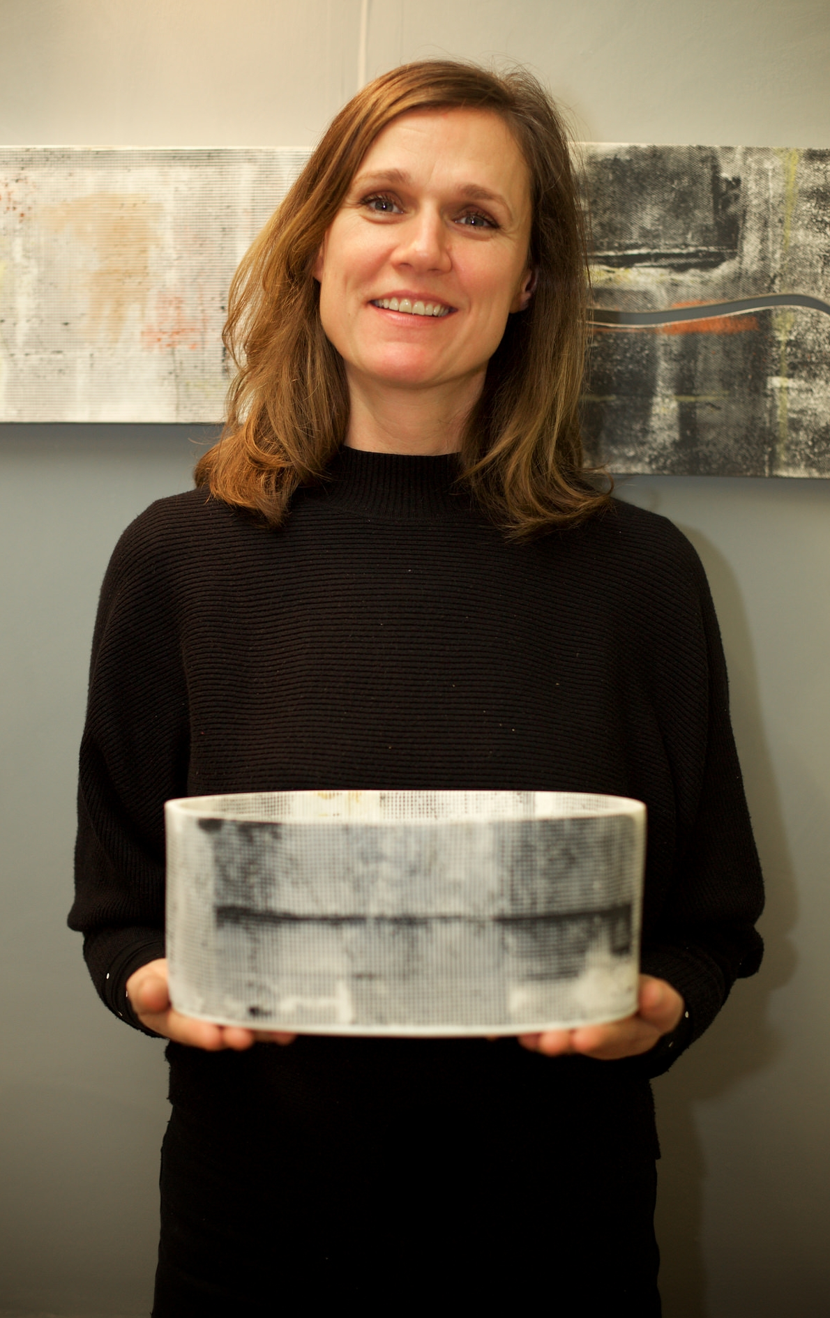 Jamie Trounce  is the regular photographer at Cockpit Arts open studios events. He has captured me here and the very first vessel I made this year using my surfaces, movement and journey. I'm looking forward to scaling up,introducing light and a kinetic element to my ceramics in 2018.