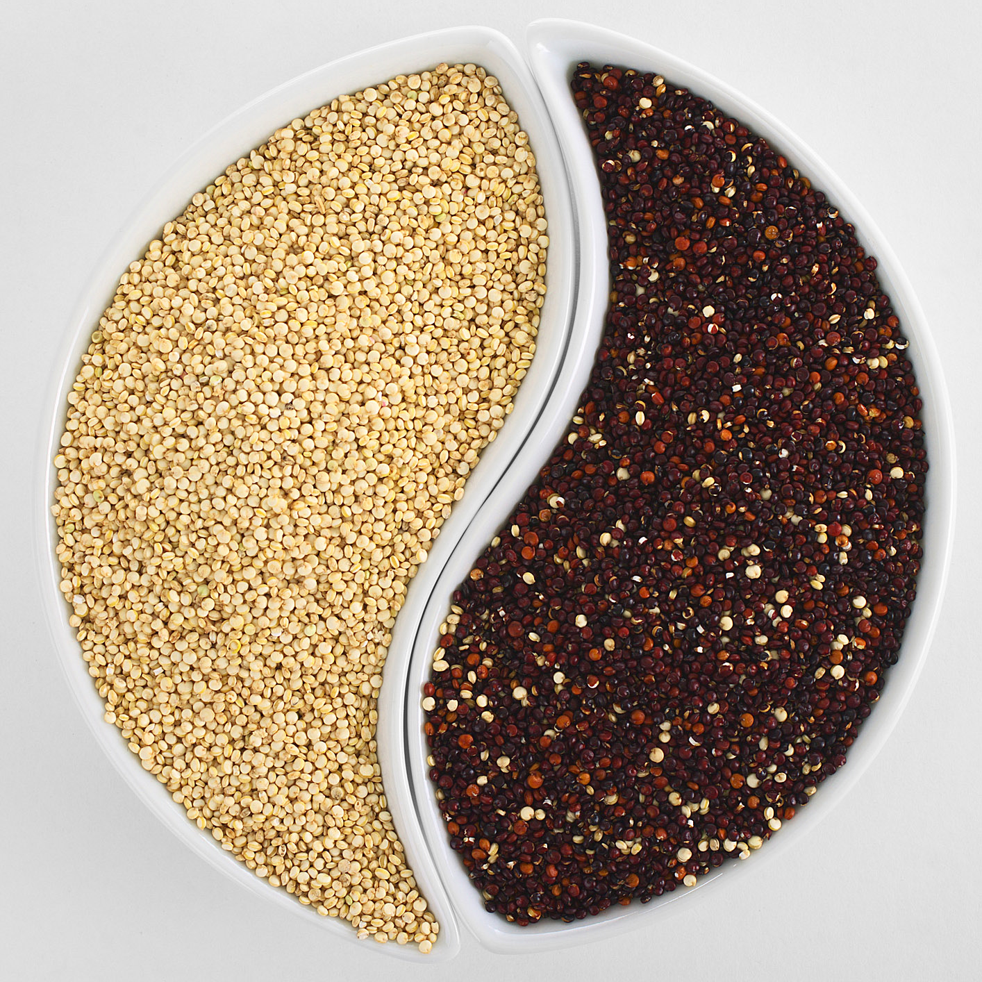 yin and yang quinoa_macrobiotic