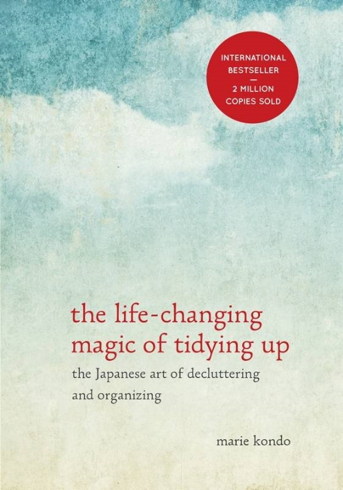 The Life Changing Magic of Tidying Up_Marie Kondo_Book Cover