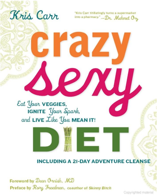 Crazy Sexy Diet_Kris Carr_Book Cover