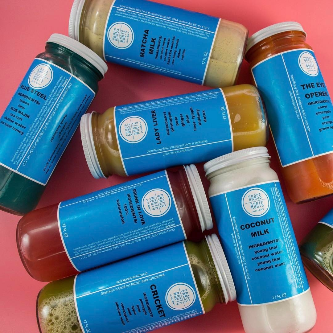 Grass Roots Juicery_Juices_Glass Bottles