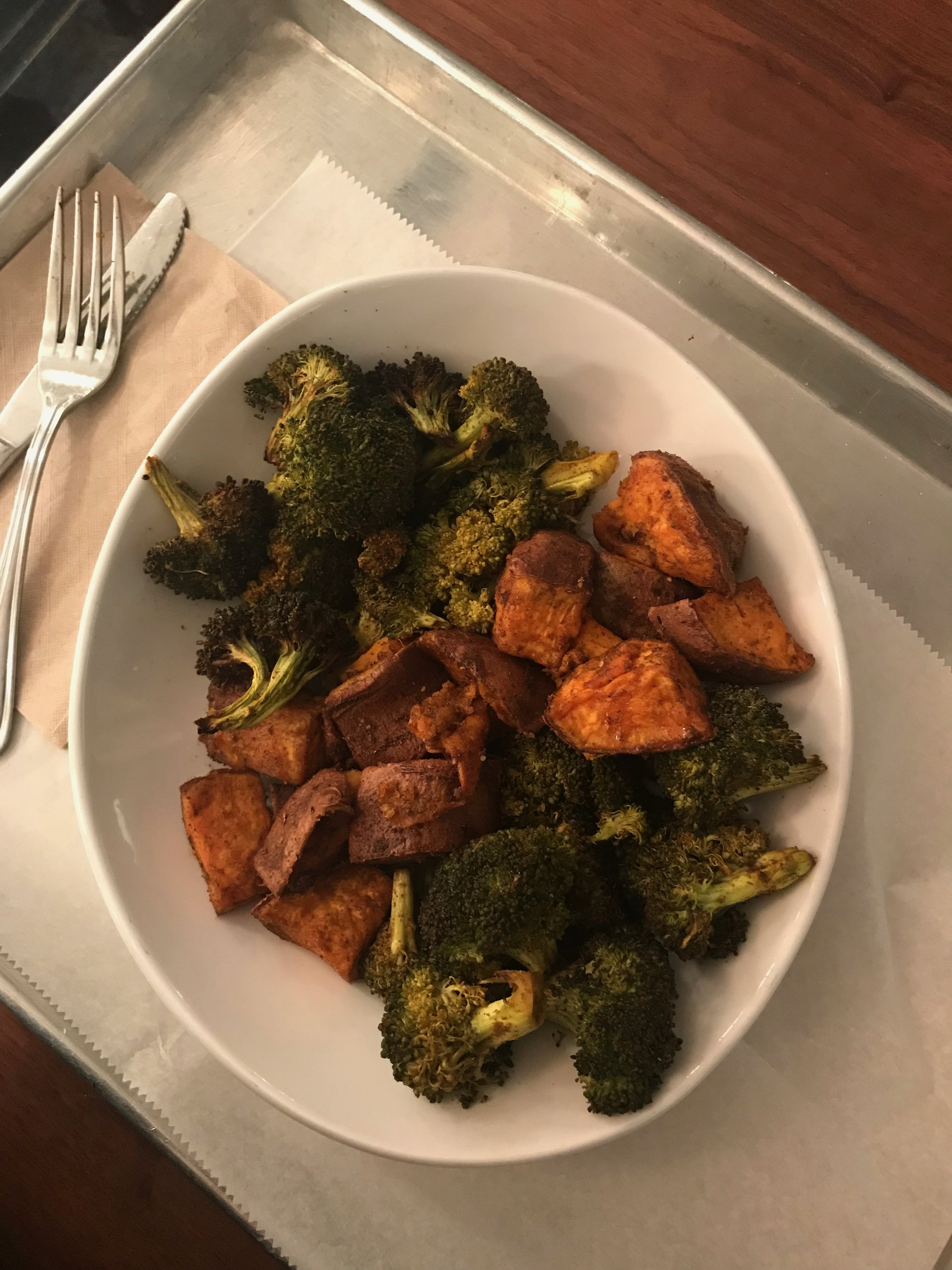 my favorite meal out: sides matter from Hu Kitchen