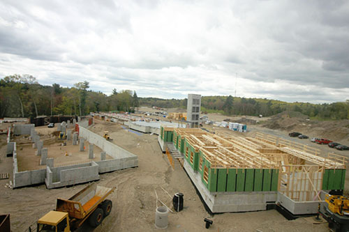 Watch the construction at the Sharon Residences, Sharon, MA