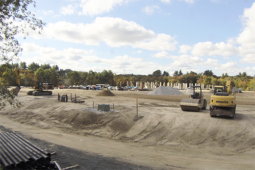 The Willows and Whitney Place at Medway, a Salmon Health and Retirement facility in Medway, MA, is under construction LIVE!