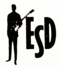 "This was an ESD logo I designed using clip art.  The ""ESD Guy"", as he came to be known, was modified based on need."