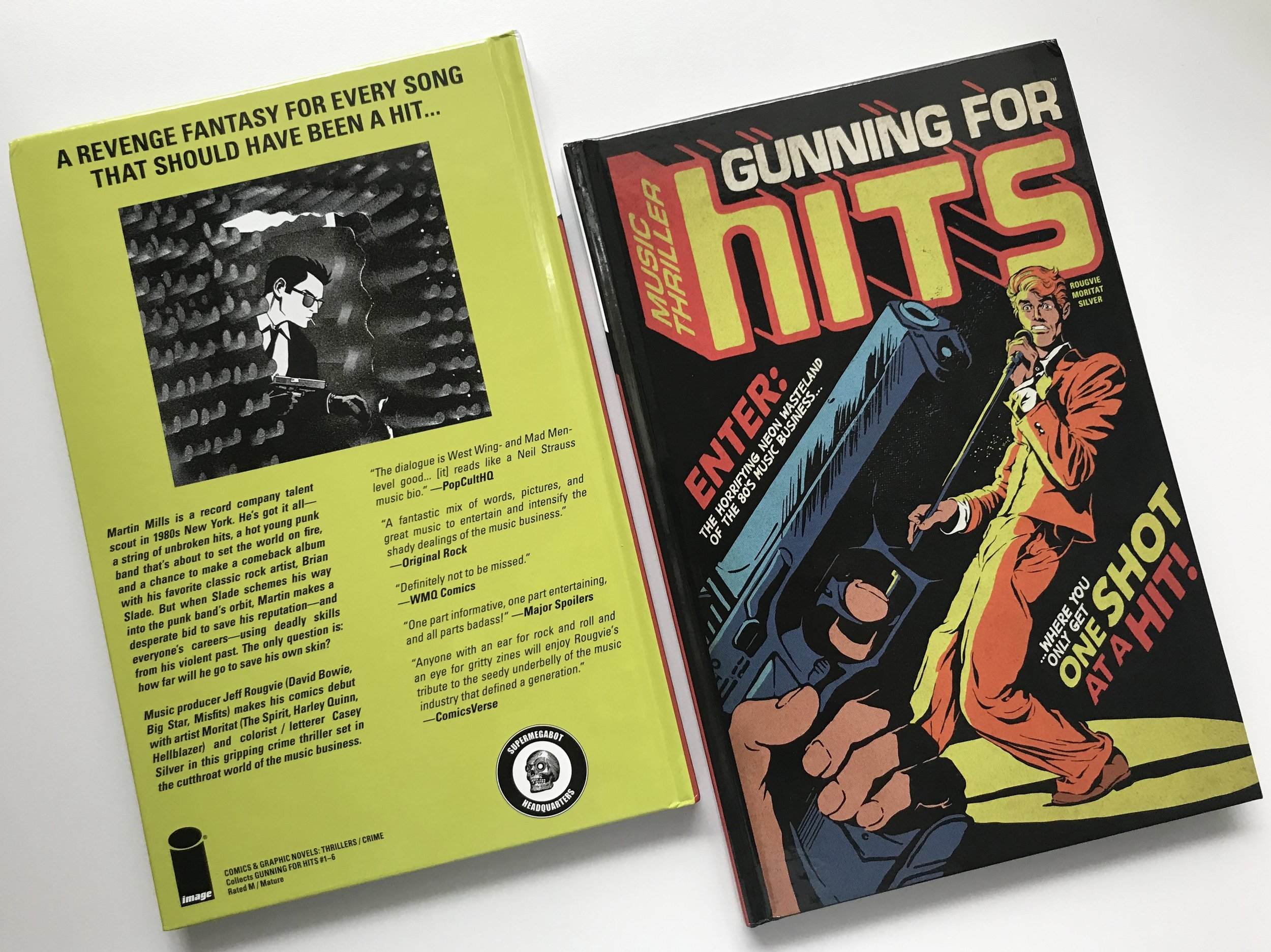 Deluxe limited, signed & numbered hardcover edition with Butcher Billy cover art. Debuted at San Diego Comicon on July 17th.