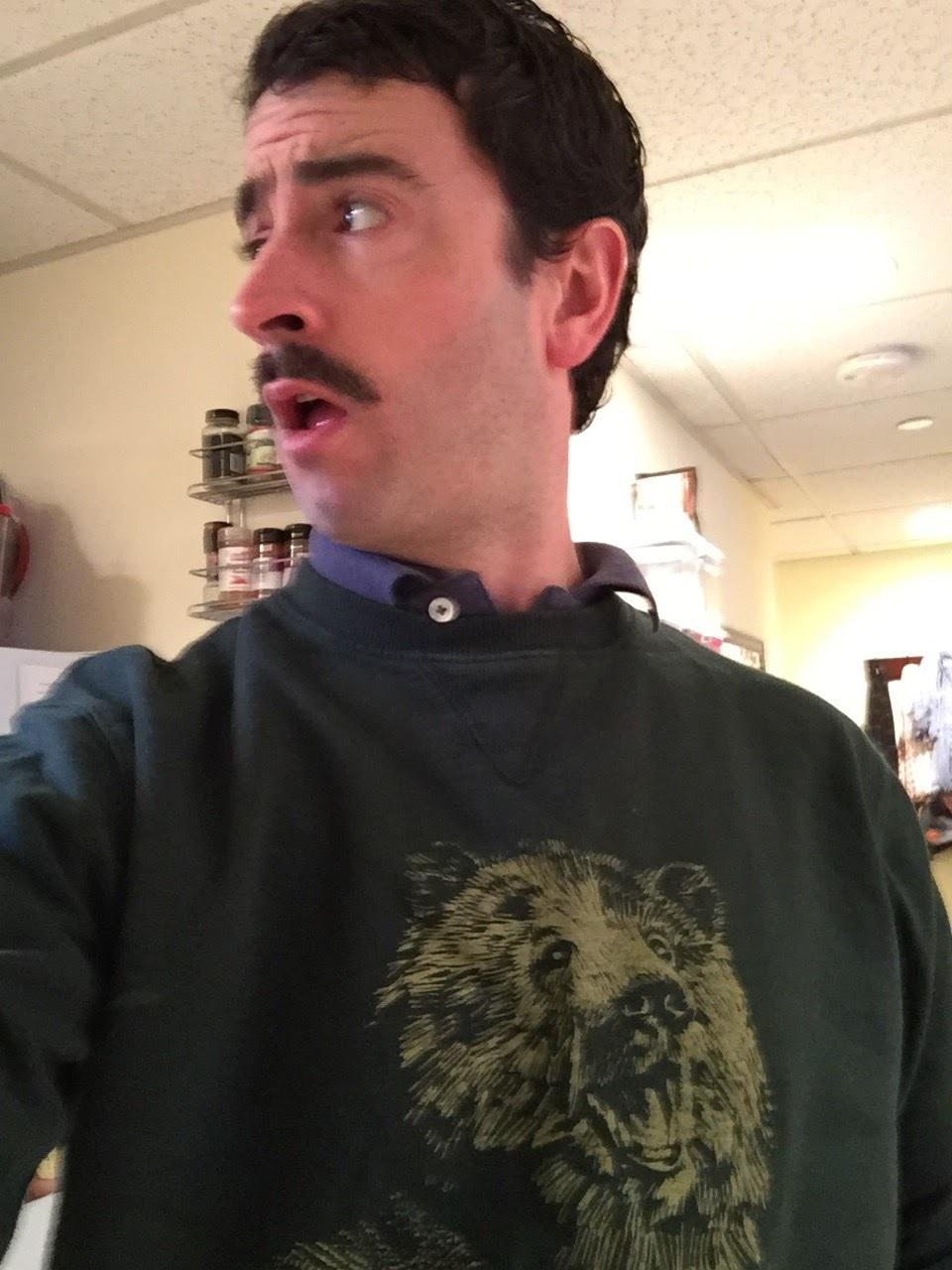 mustachebear
