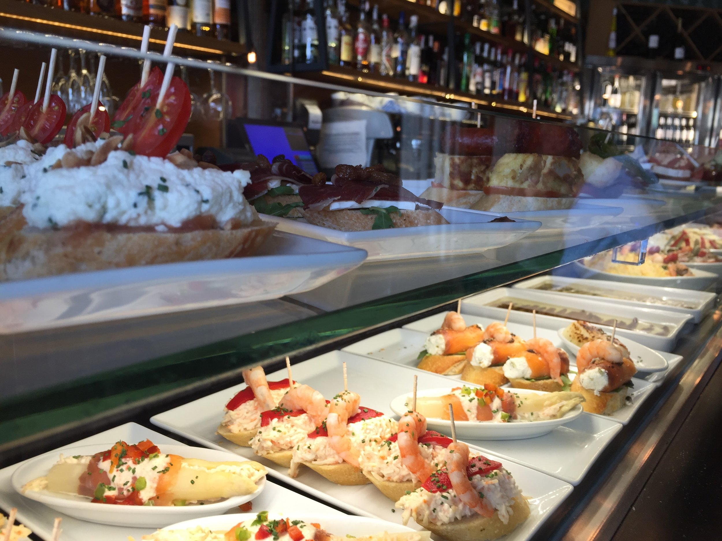 Here are some delicious tapas. If you see a tapa in real life put it in your belly immediately.