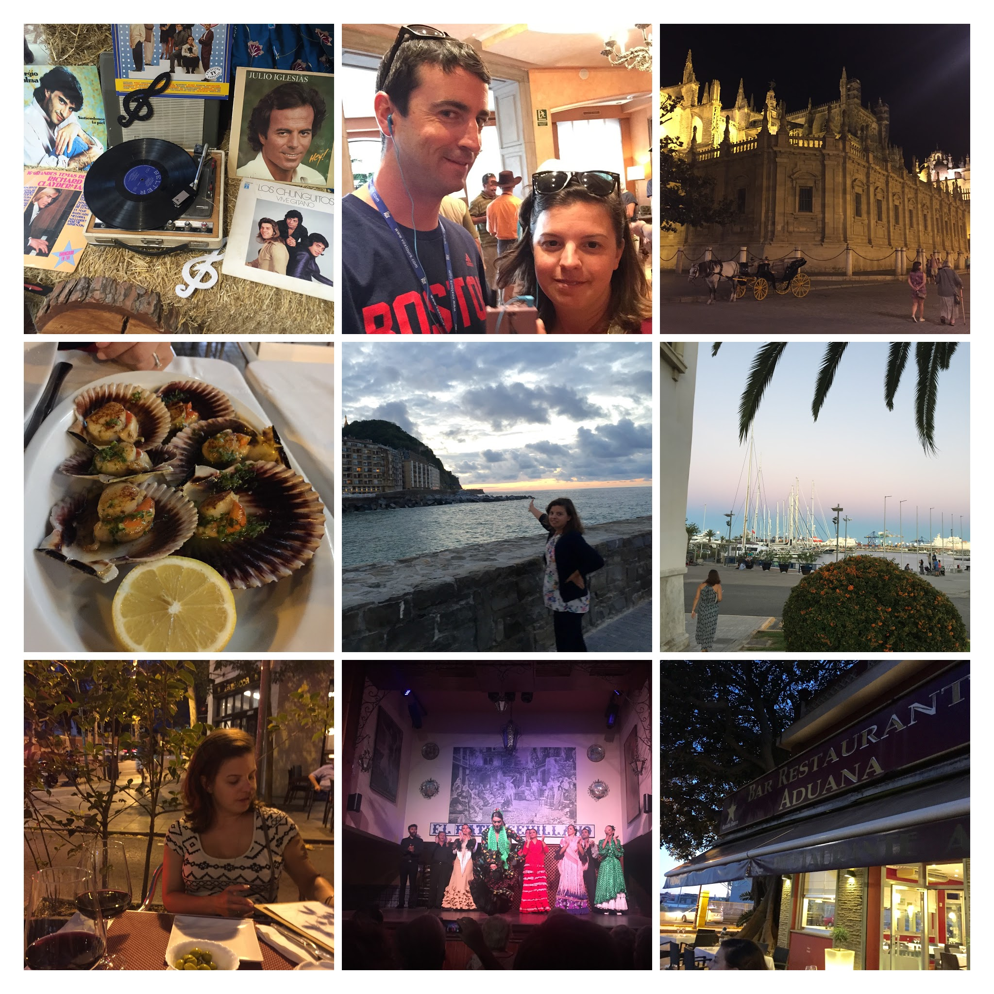 Following Amanda around the country of Spain.