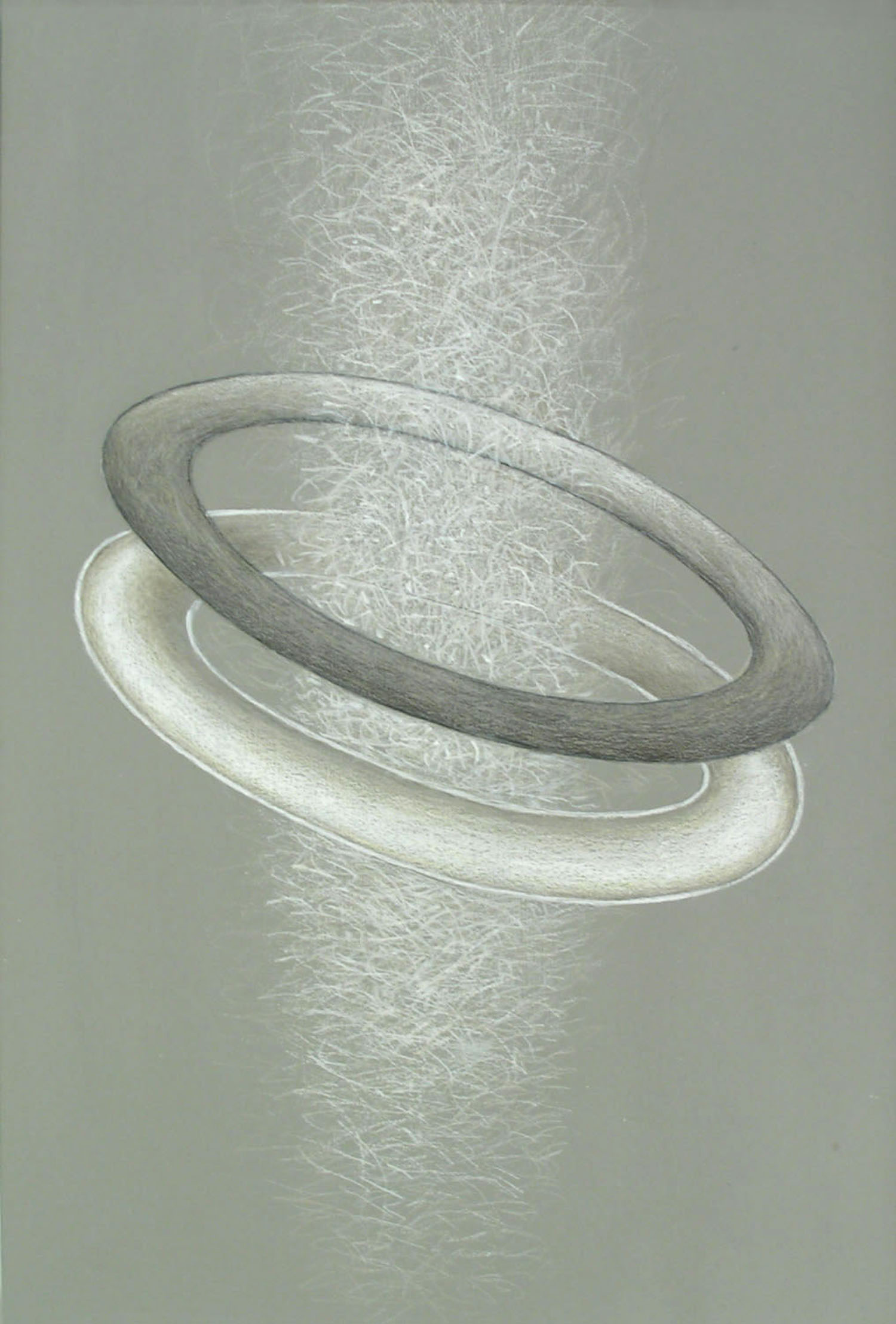 Passage of Light , 1997  Prismacolor on paper 18 x 14 inches