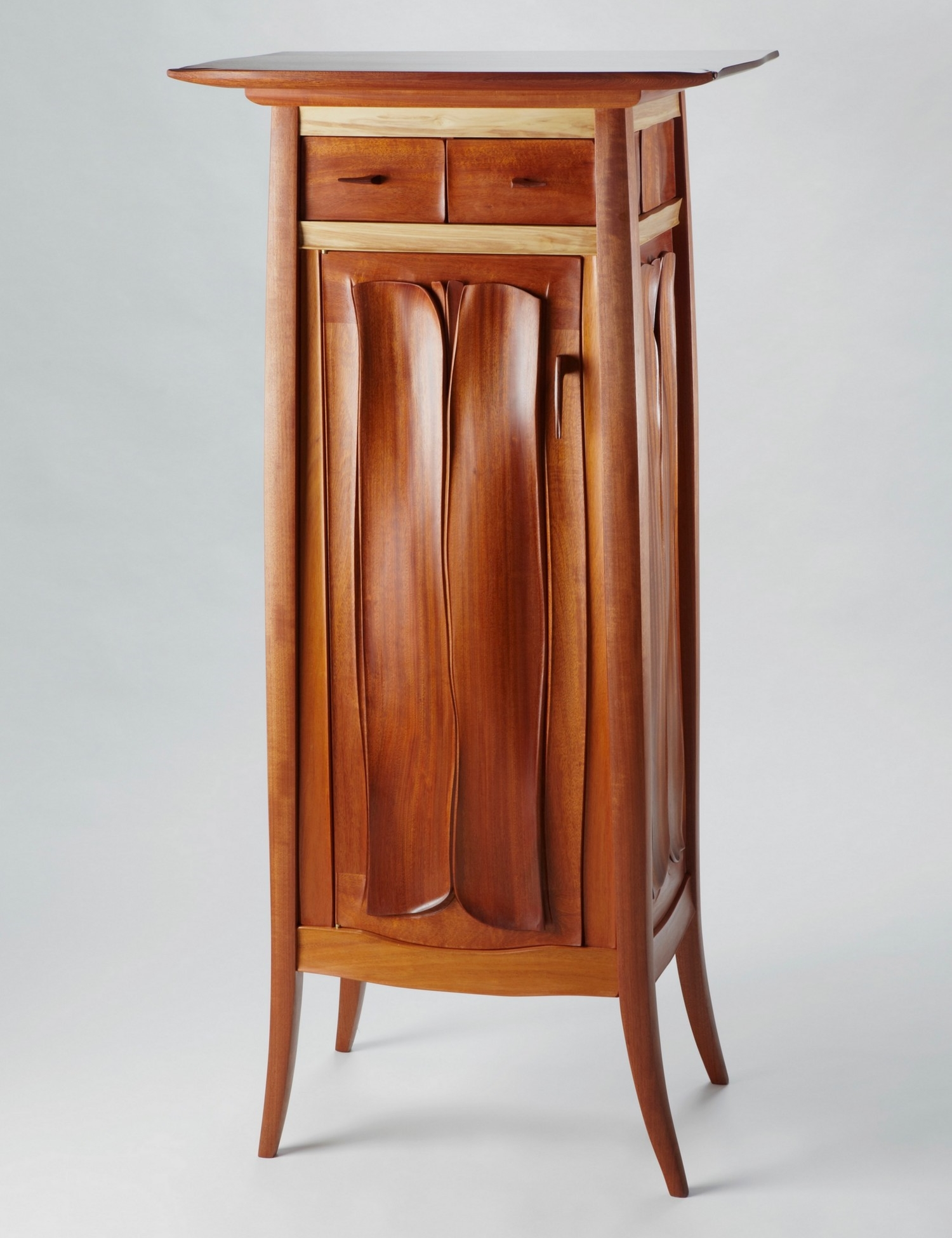 One Door Cabinet with Drawers