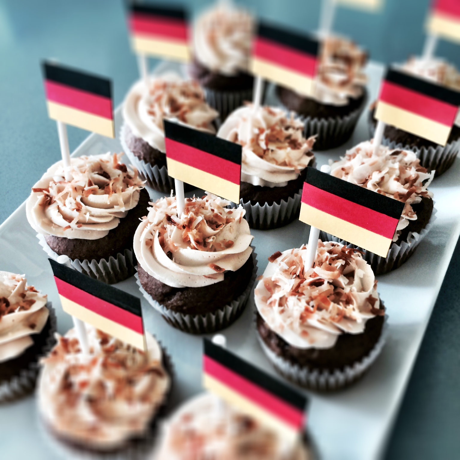 Rooting for Germany in the 2014 World Cup final