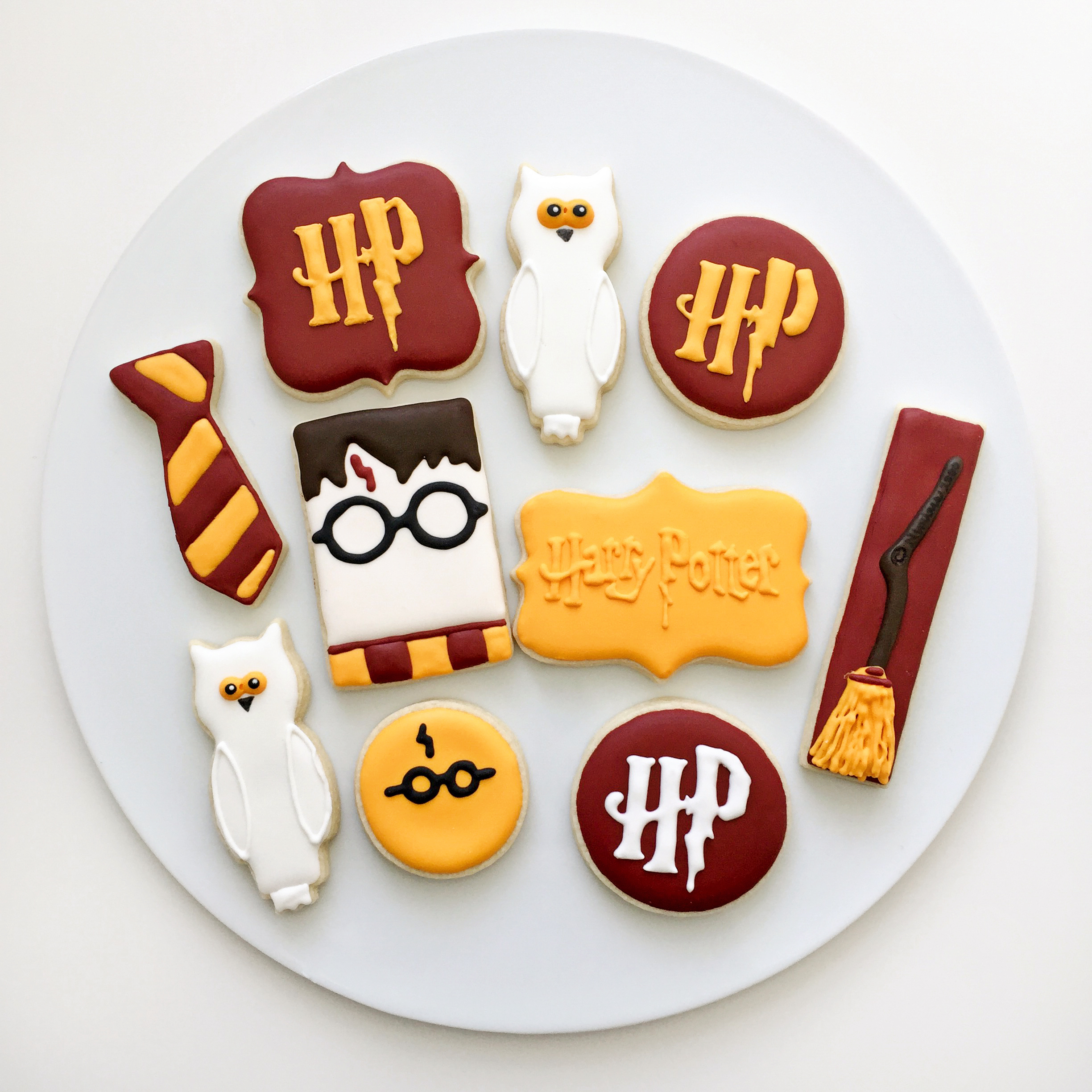 Harry Potter Cookie//Icing Cutter
