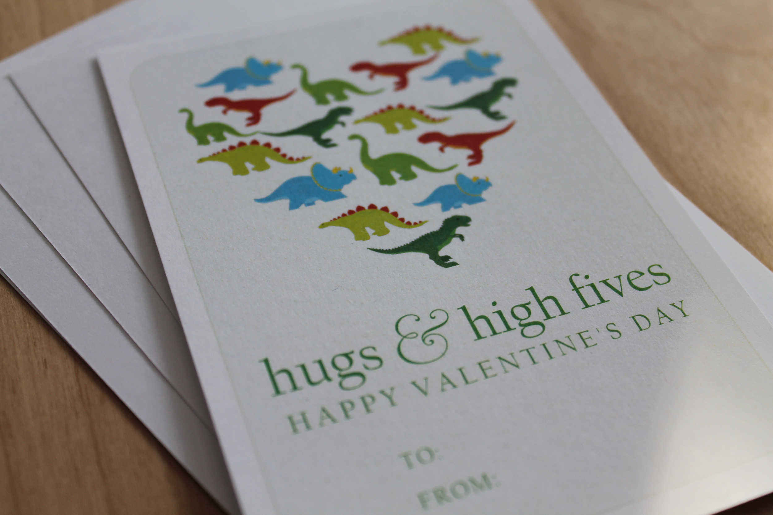 high fives valentine