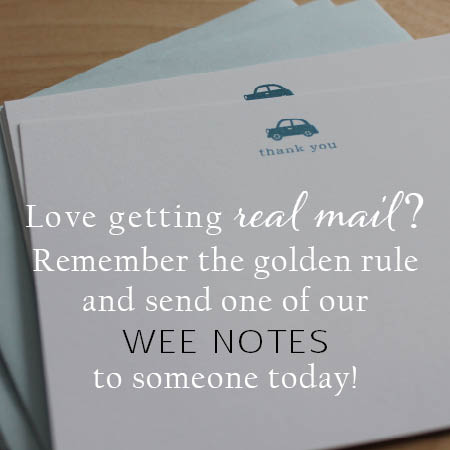 welcome wee notes