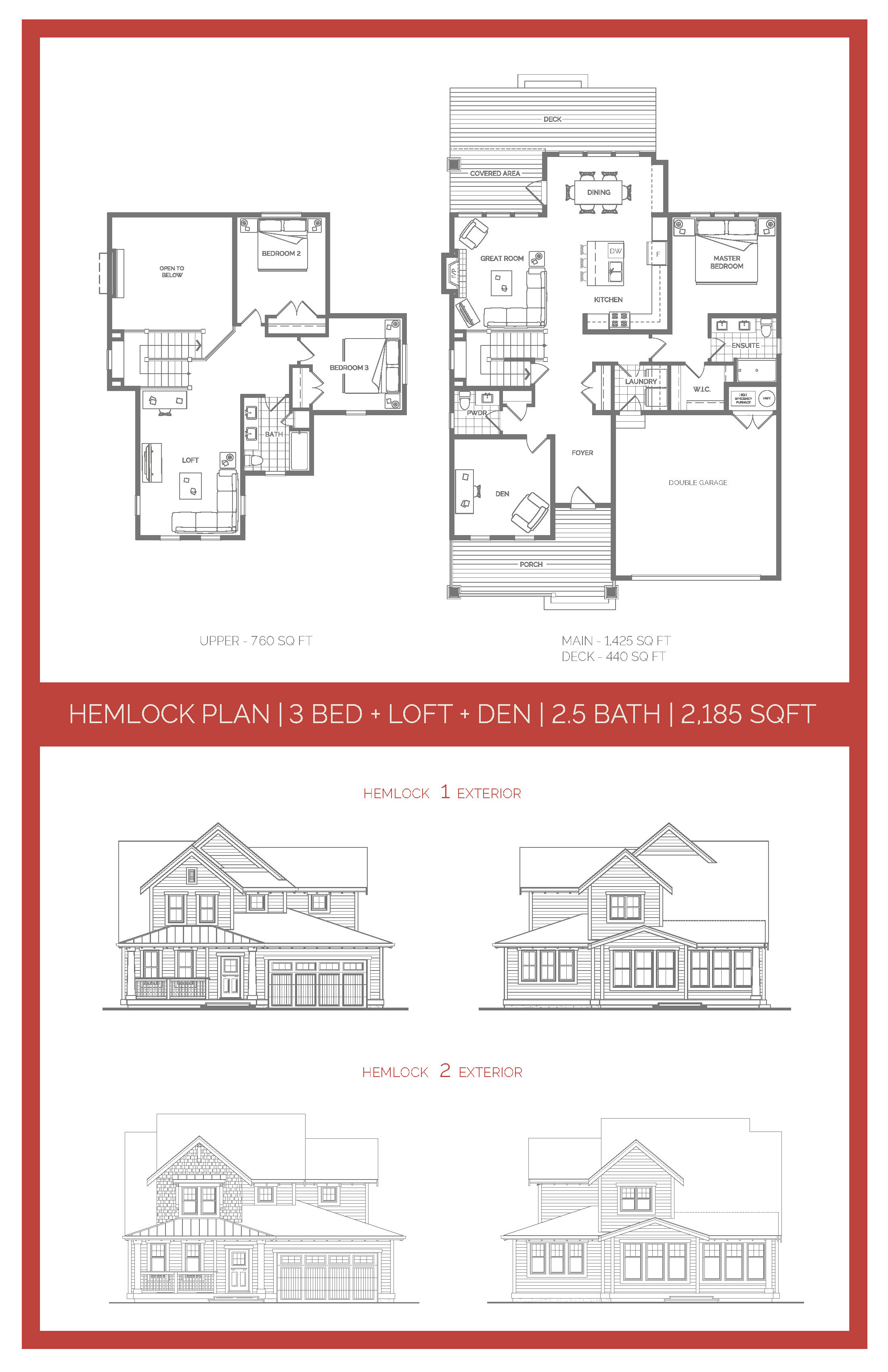 The Hemlock Floor Plan