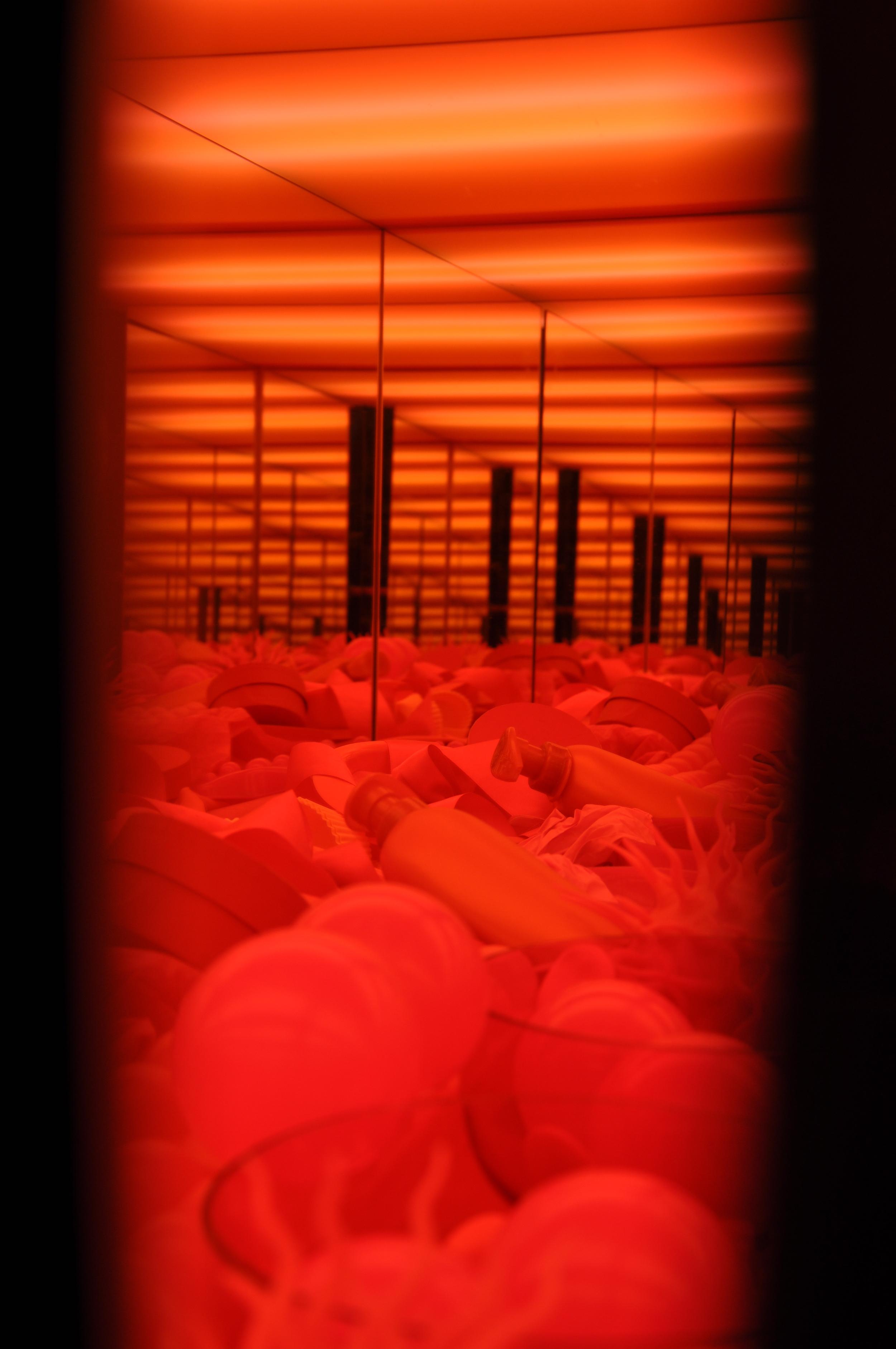 7. Red Chamber (Internal View), Mixed Media Installation, 2011 -2.jpg