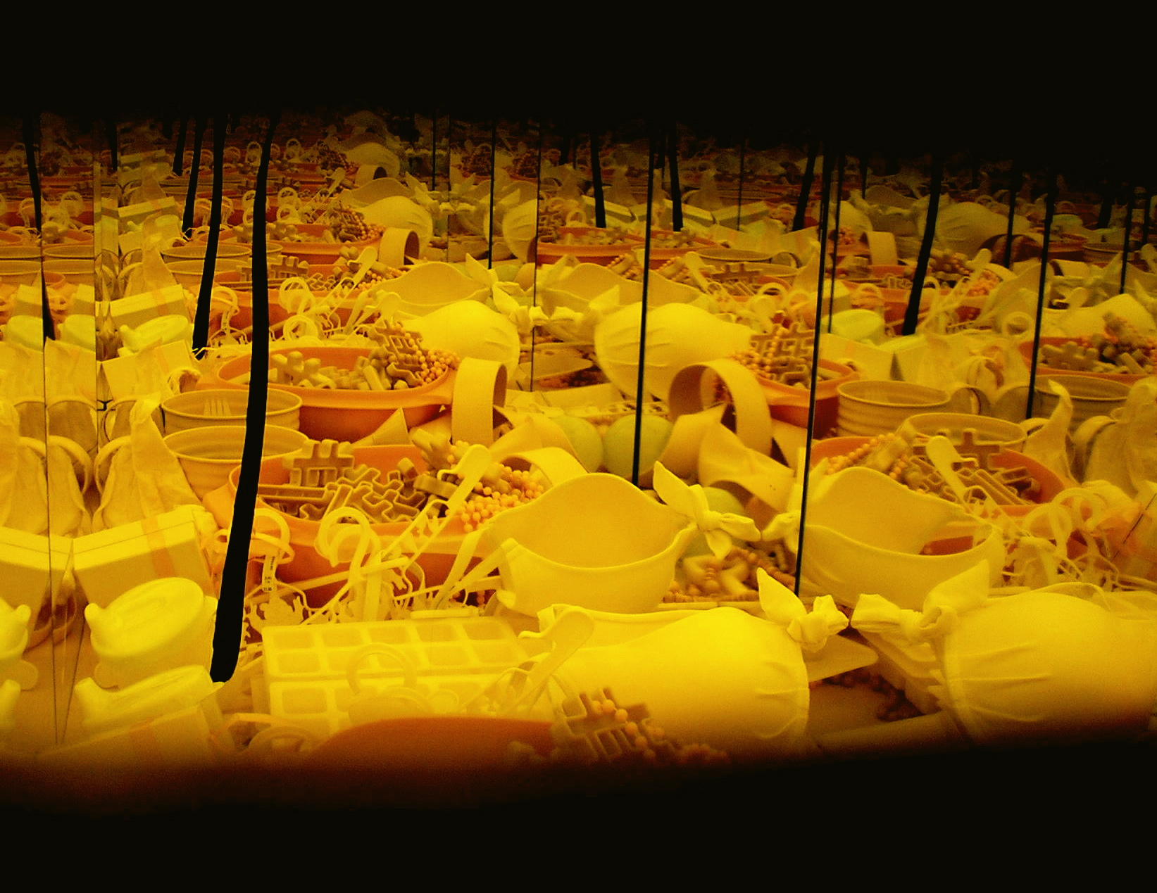 5. Yellow Chamber 1 (Internal View), Mixed Media Installation, 2007.jpg.jpg