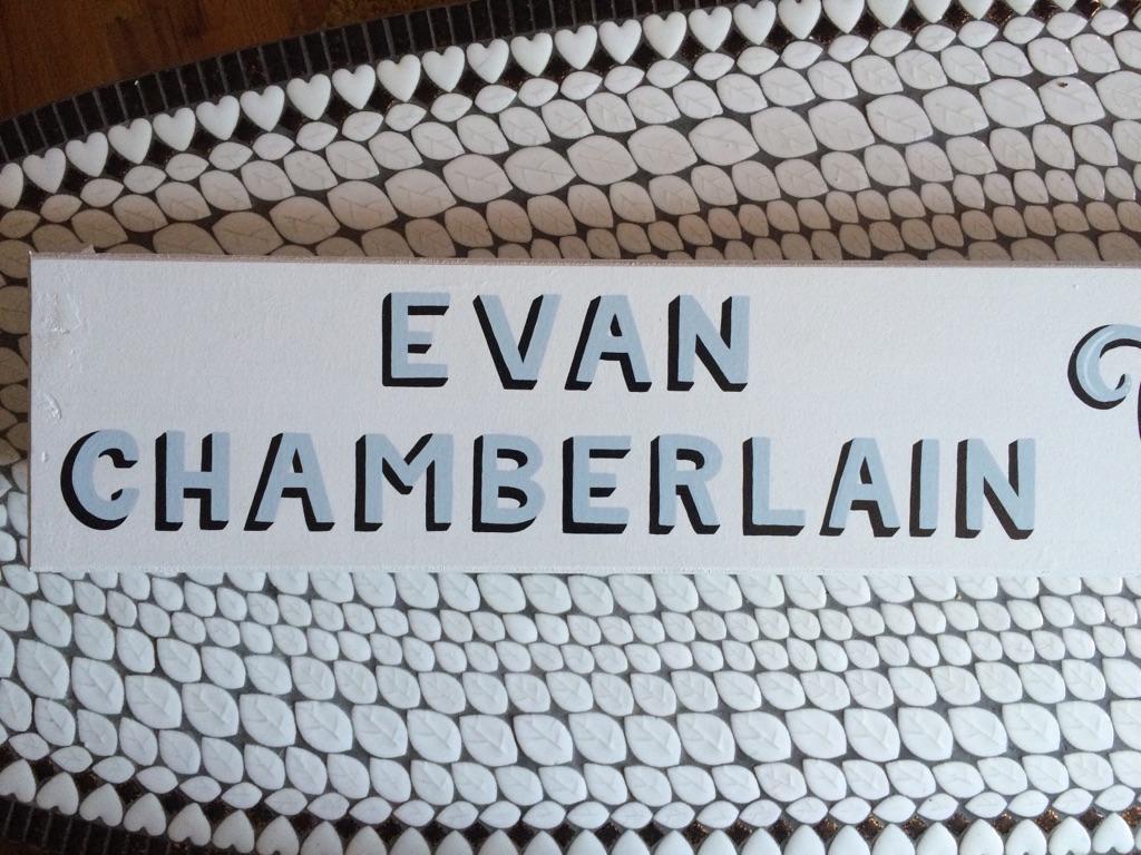 Evan Chamberlain Glass Works   2016