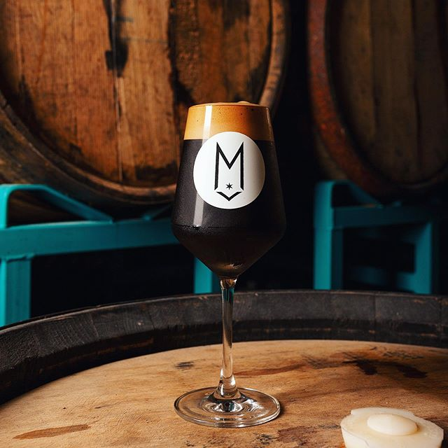 🚨 CUPPA BREAKFAST ON TAP THIS WEEKEND! 🚨Loaded with Maple Syrup 🍁, Chocolate, Vanilla, @metriccoffee, and a touch of Cinnamon. Only at the Lounge, starting today at 3pm until it's gone! Limit 1-crowler per person to-go! 12.8% ABV. — The rest of the Cuppa base went into barrels (Weller and Madeira) for a long 💤. See you in a year.