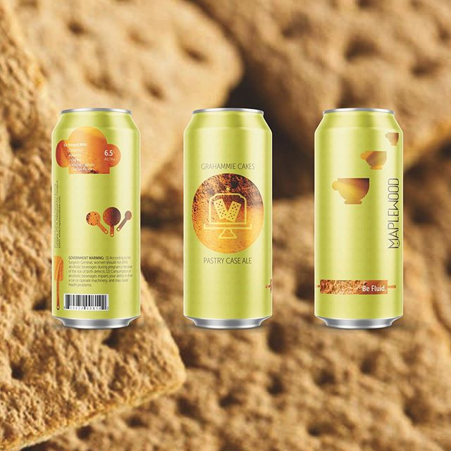⏲COMING SOON ⏲The people have spoken and the time has come to put our beloved golden child, GRAHAMMIE CAKES, into CANS! This pastry perfection was brewed with cinnamon, vanilla, @metriccoffee and graham crackers!! Join us at the Lounge on Tuesday, July 2nd for the official can release! ⠀⠀⠀⠀⠀⠀⠀⠀⠀⠀⠀⠀ Distro for Chicagoland only begins July 8th!