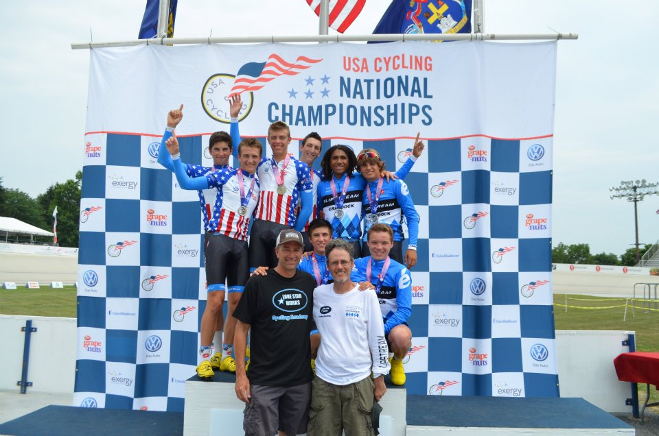 [back left] First and Second in the Team Pursuit at Nationals. Yep. - 2012