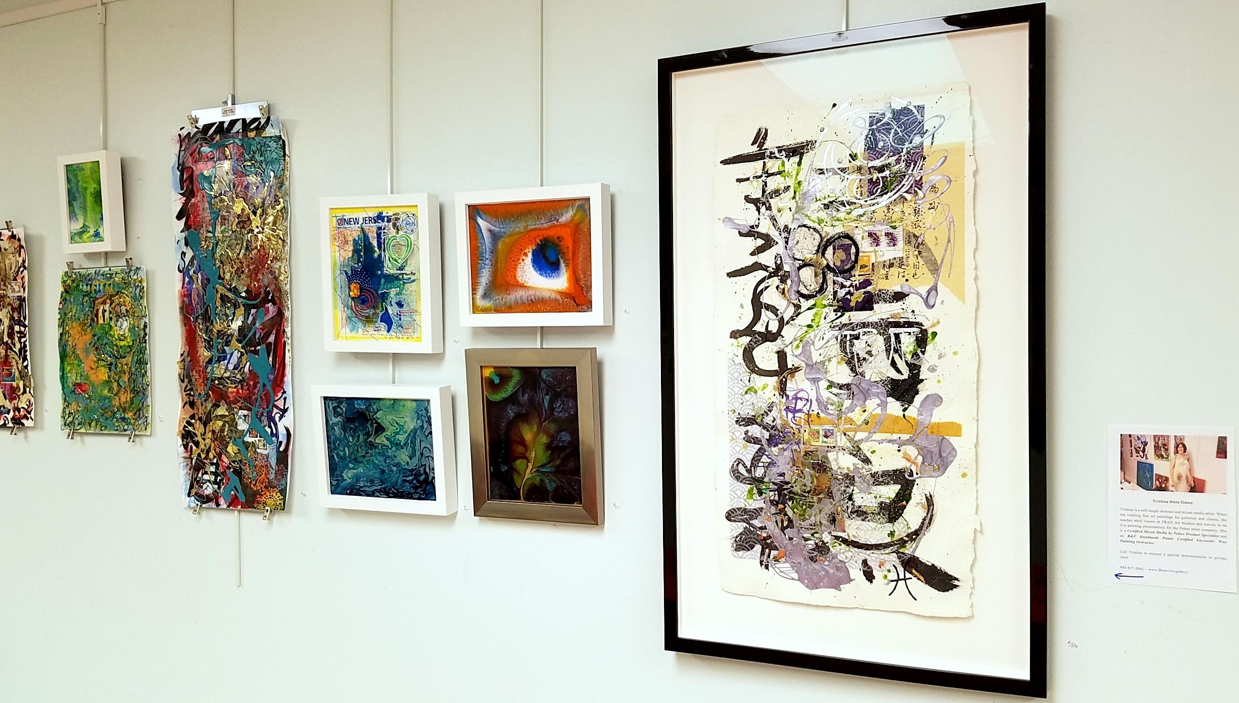 Sneak Peek of my newest artworks at TRAX Art Studios.
