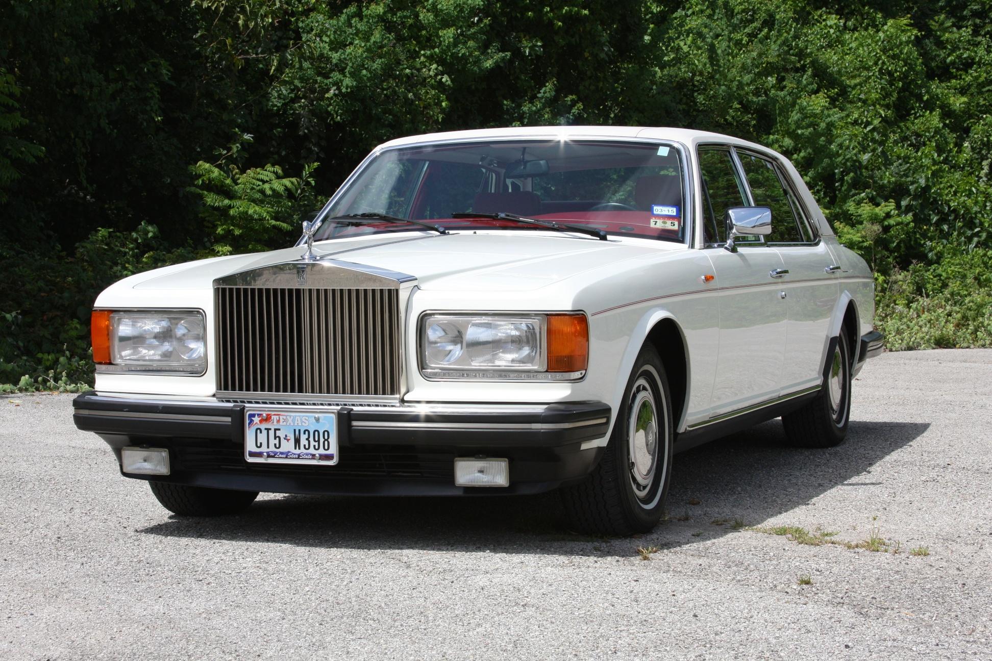 1991 Rolls-Royce Silver Spur II (MCX34449) - 04.jpg