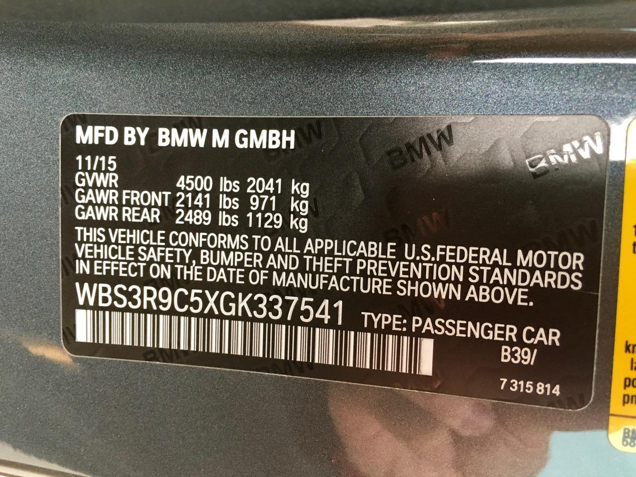 2016 BMW M4 (GK337541) - 30.jpg