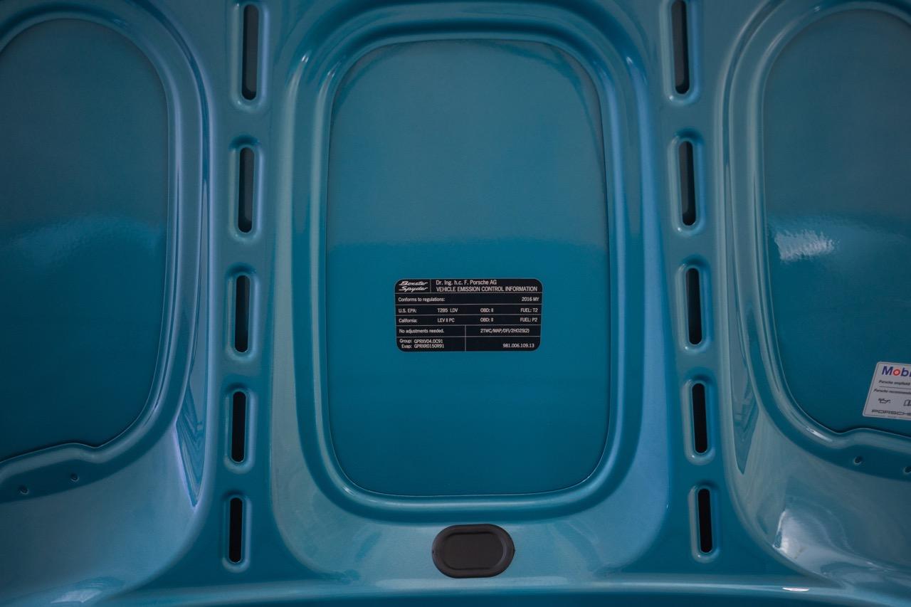2016 Porsche Boxster Spyder (GS152671) - 66.jpg