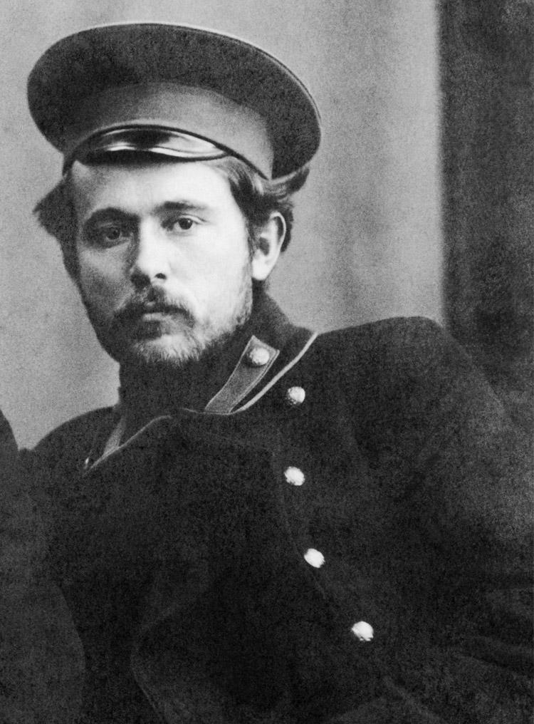 1.3 ┆     Isaaki Semyonovich Solzhenitsyn Solzhenitsyn.   Author's father, 1910s