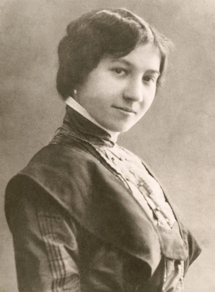 1.4 ┆   Taisia Zakharovna Shcherbak.   author's mother, 1910s