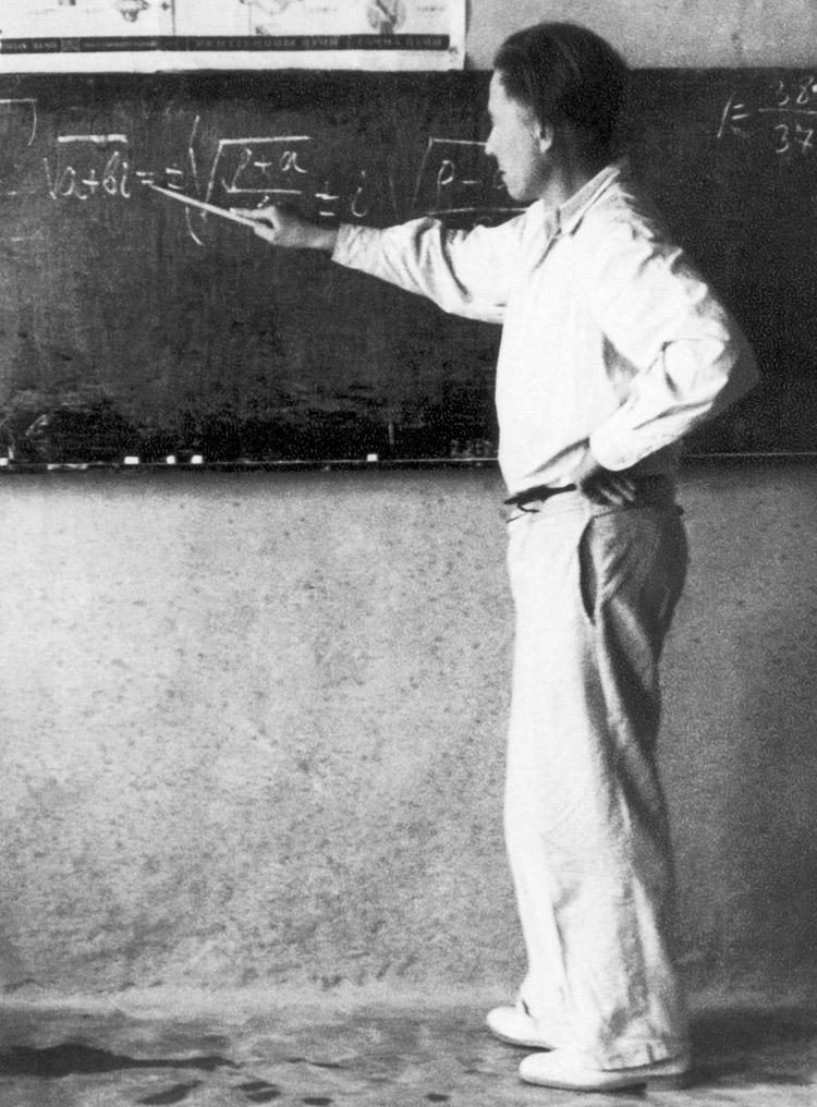 3.3 ┆   Exiled teacher of mathematics.   Kok-Terek, Spring 1954