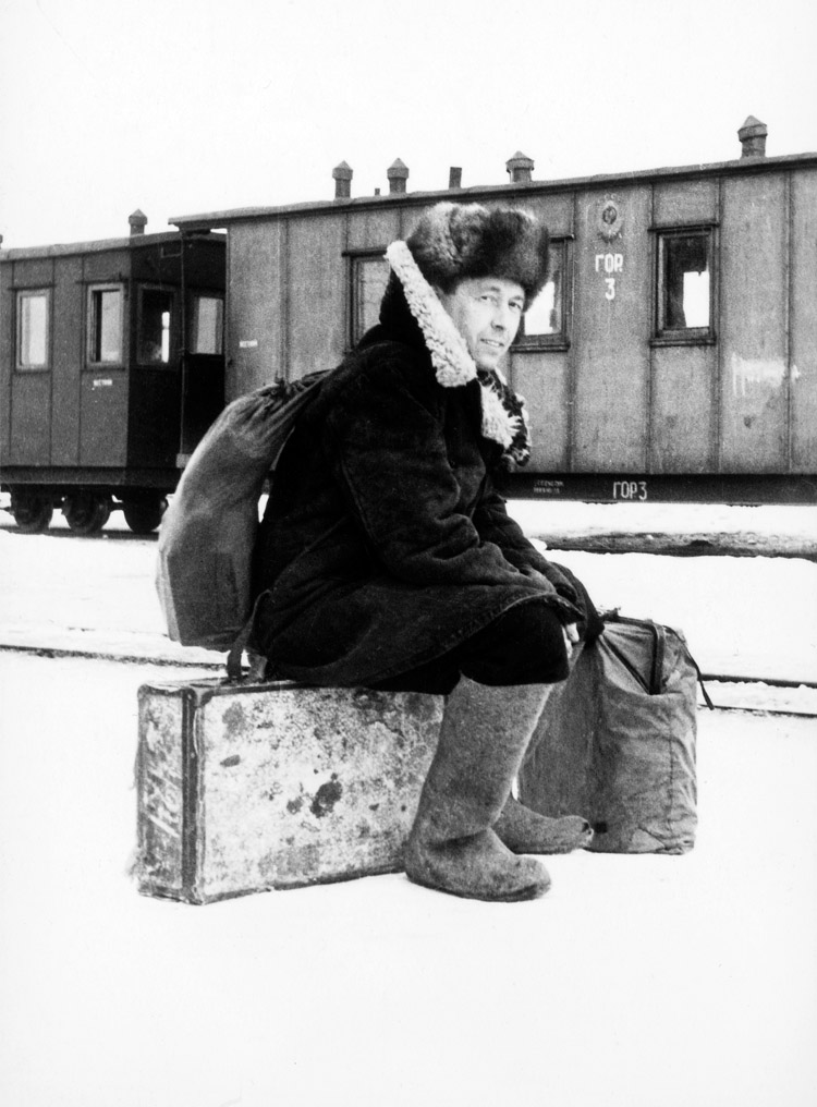 5.1 ┆   All clothes from exile times.   Winter 1956–57