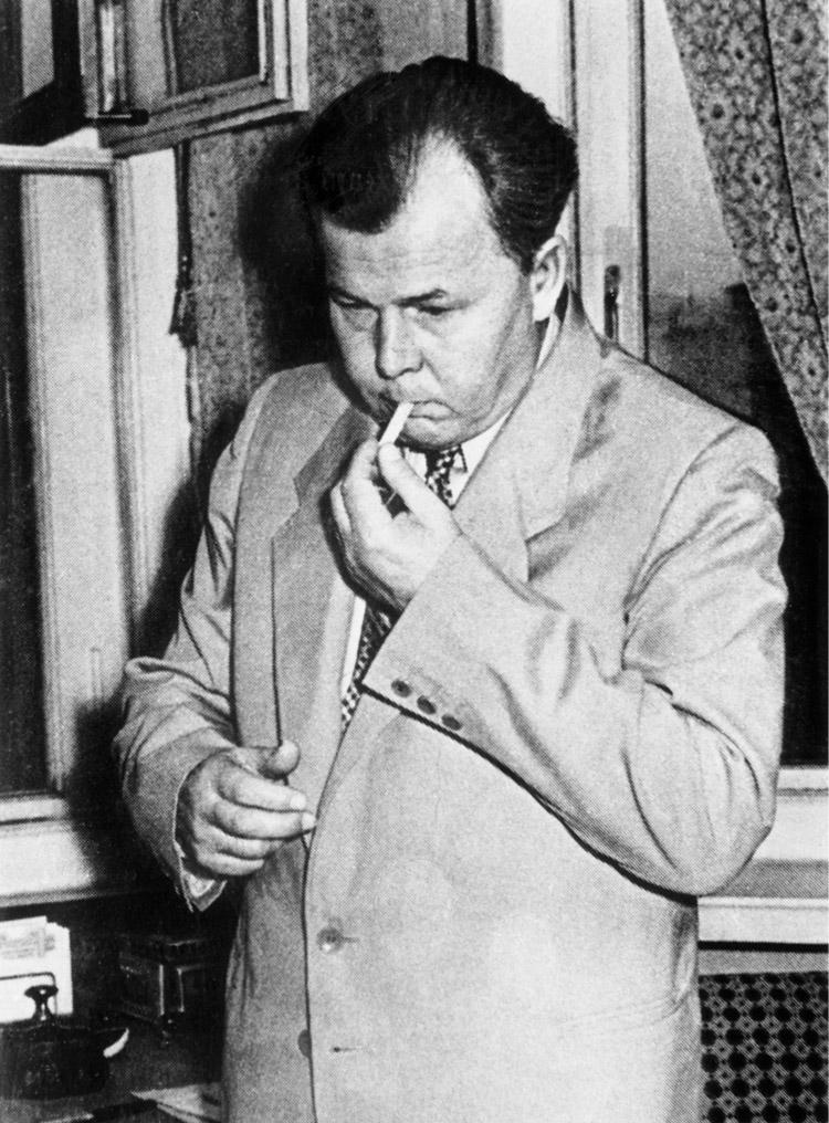 5.6 ┆   Aleksandr Trifonovich Tvardovsky, editor-in-chief of    Novyi Mir.