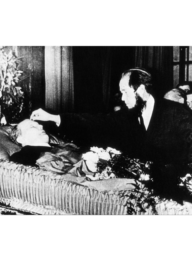 5.13 ┆   Funeral of A.T.  Tvardovsky.   December 1971