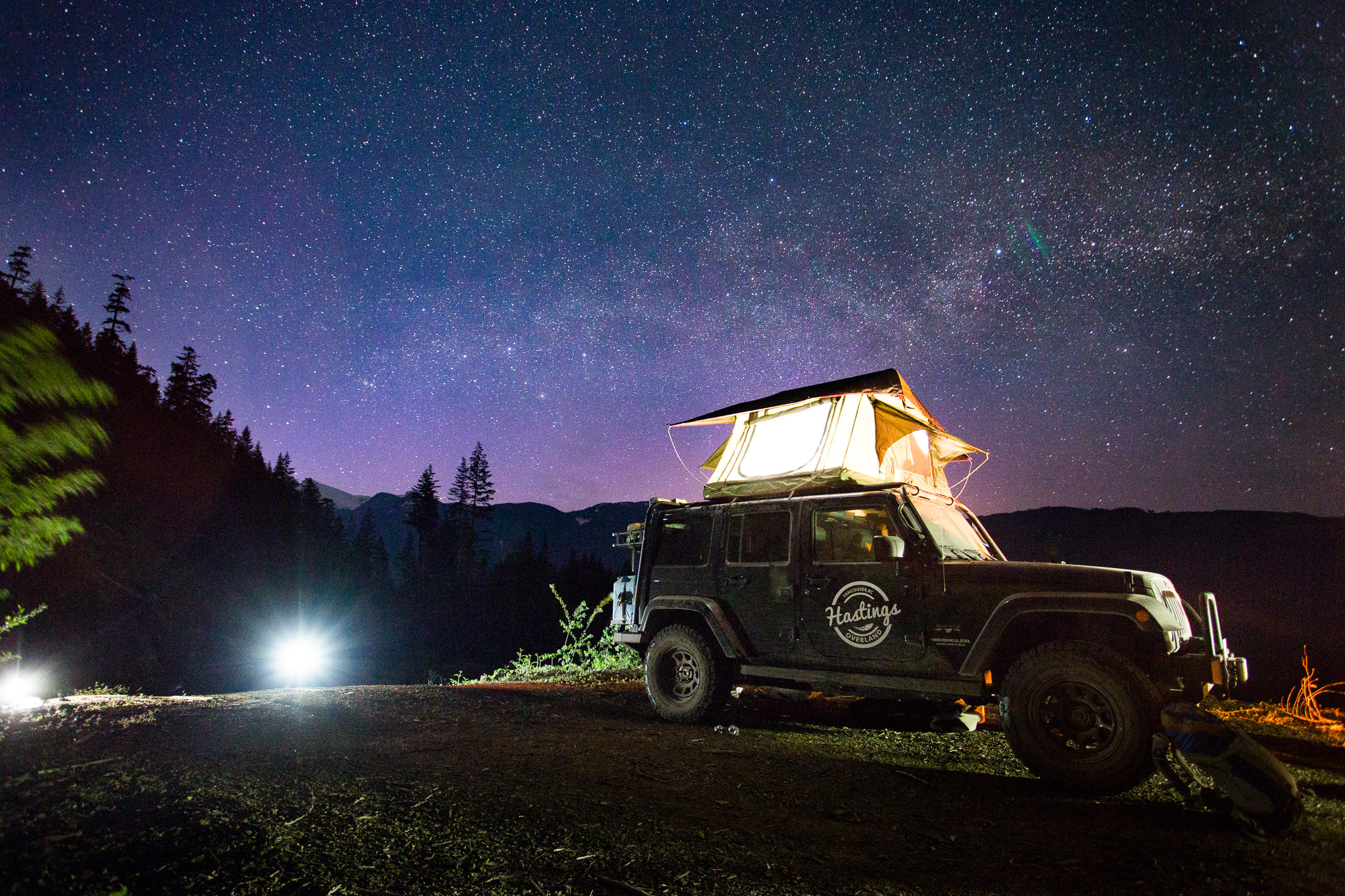 Shot for Hastings Overland