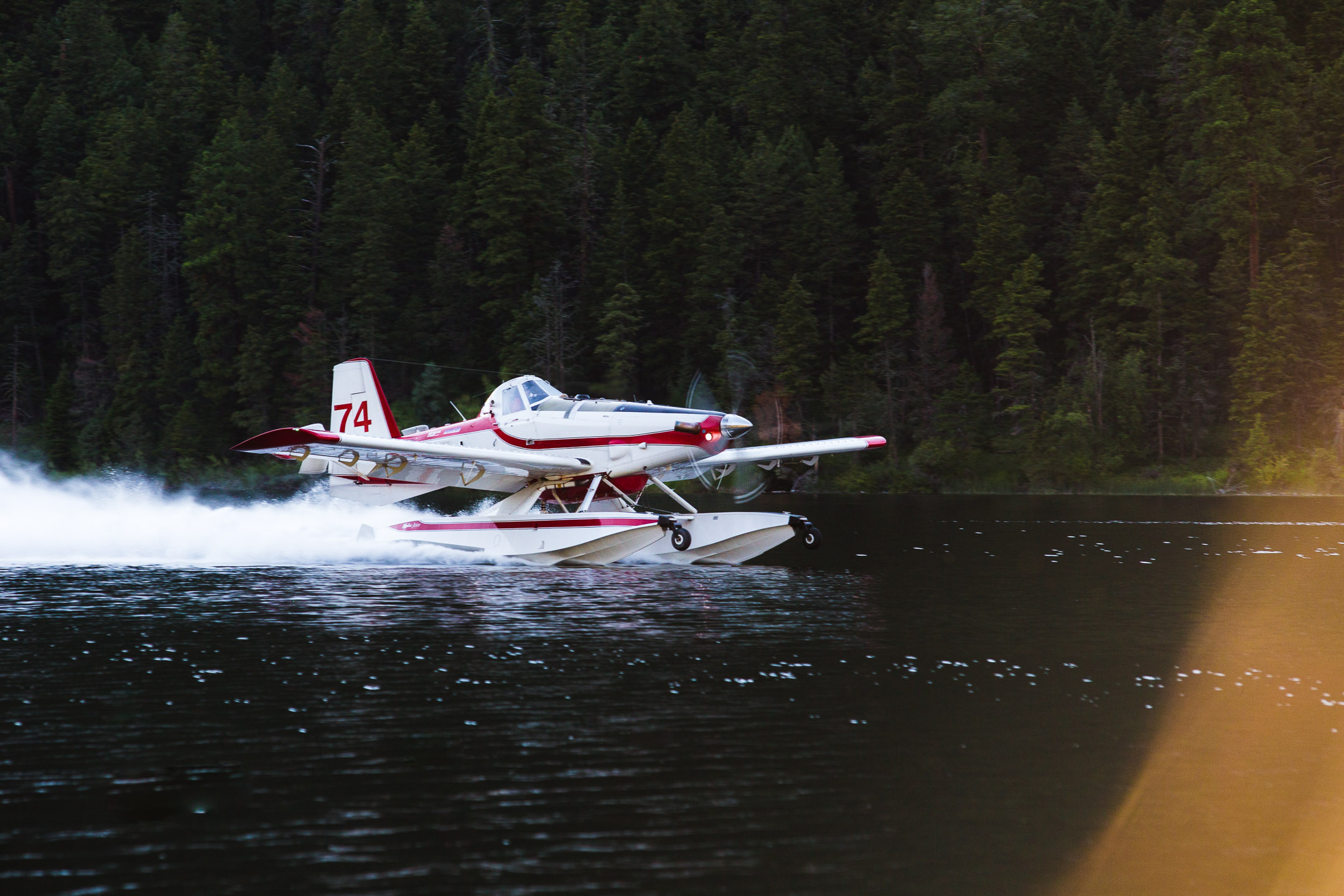 Floatplane Sunset