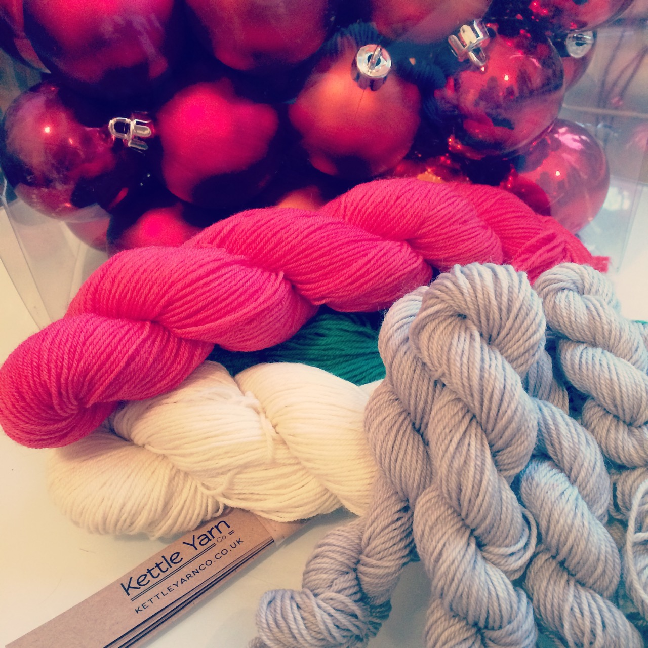 Things are decidedly Christmas-y around Yarn in the City HQ!