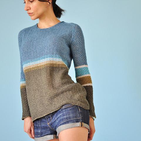 The Orza Pullover by La MaisonRille designs