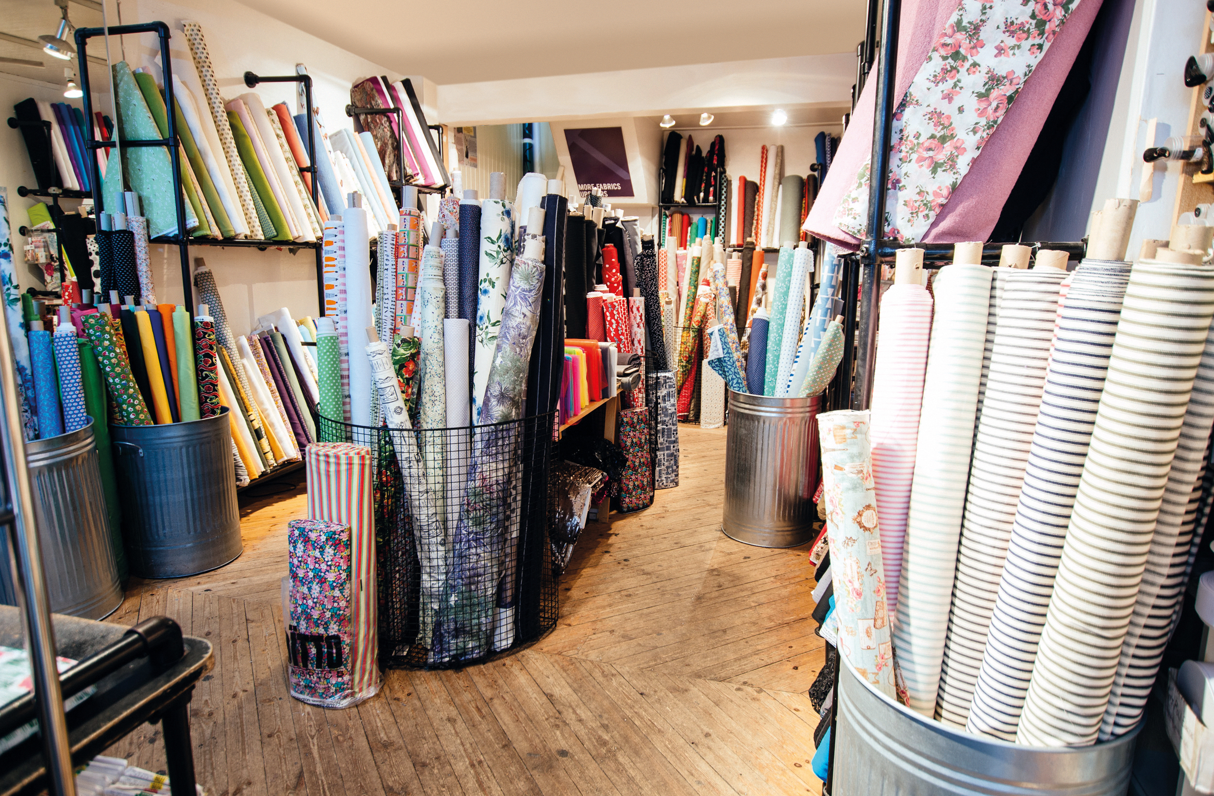 Roll on Brighton Knit and Make Social - we want at that fab fabric!