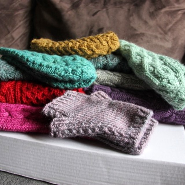 We're going to be participating in A Yarn Story's Winter Cables KAL featuring patterns from Rachel's collection for The Fibre Co.