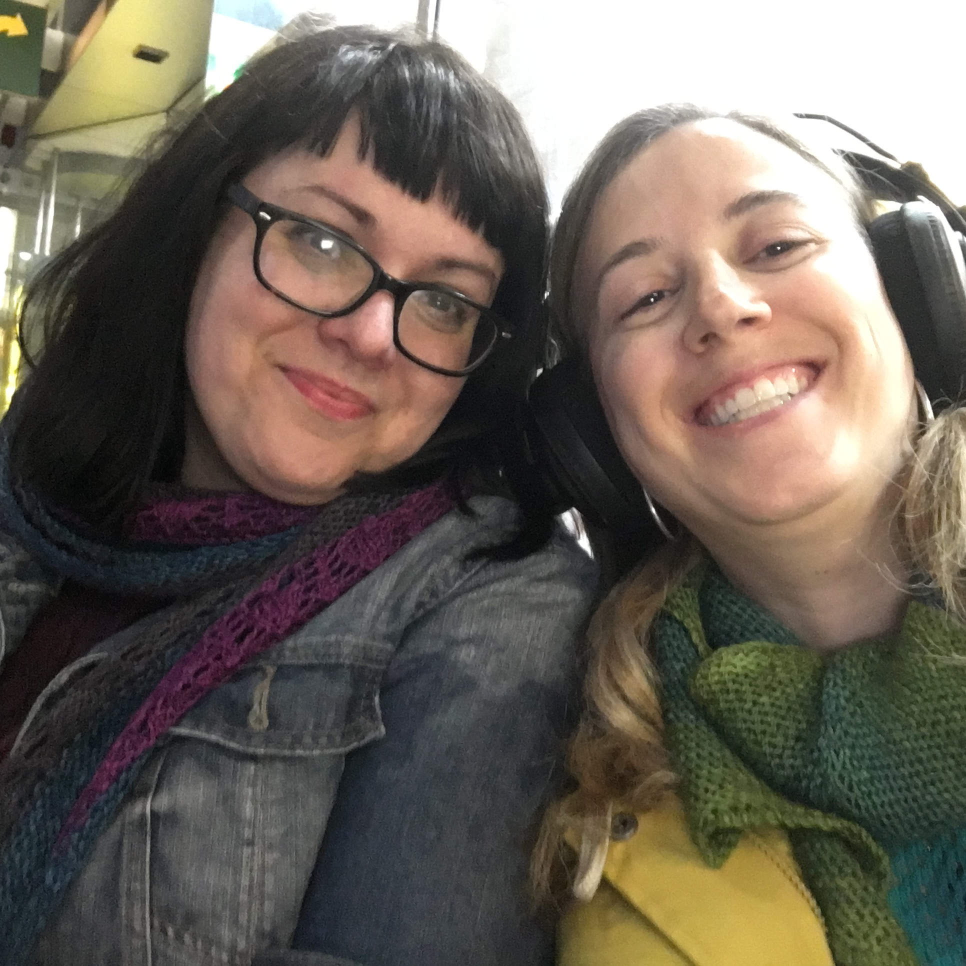 Karie and Allison get cosy on the podcast
