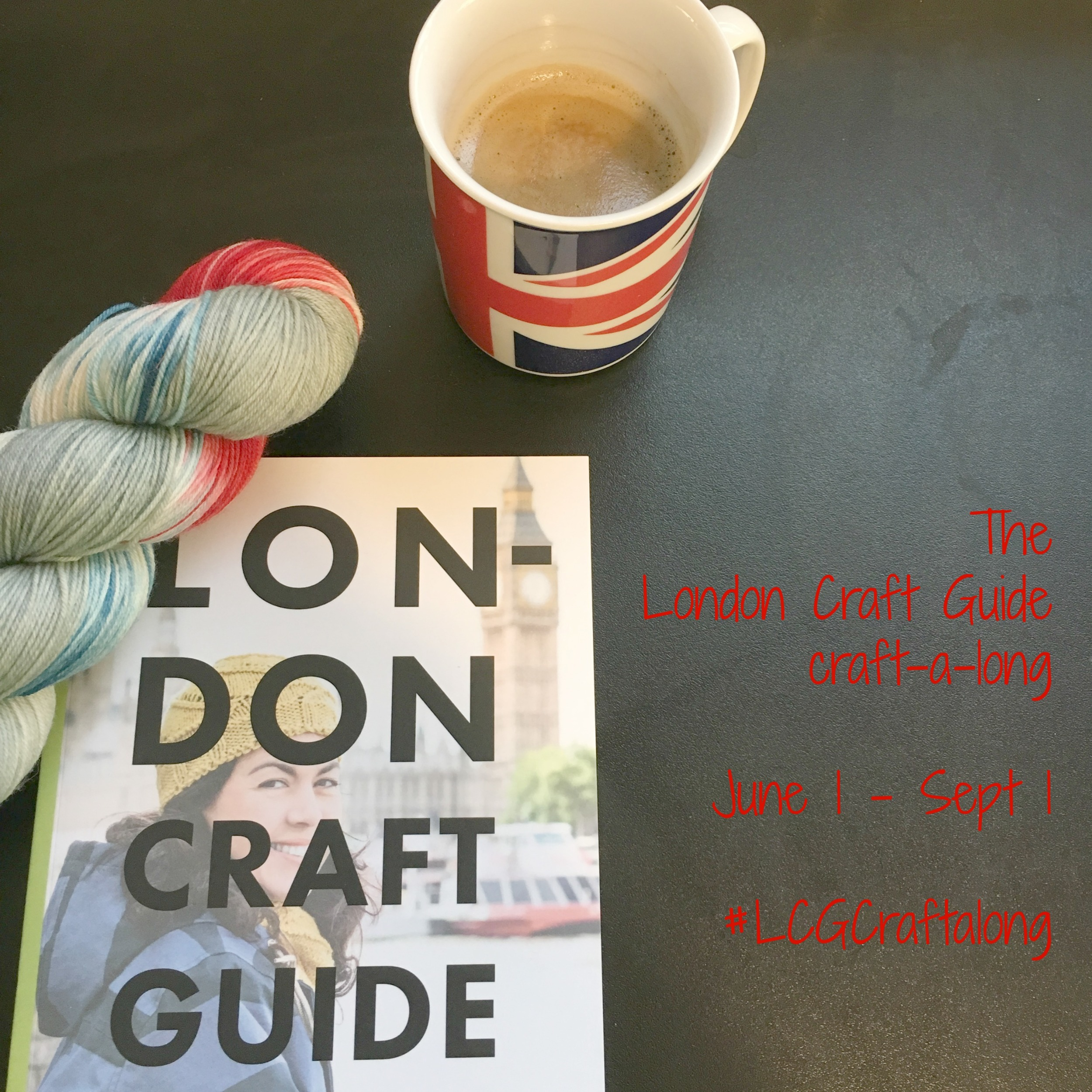 Our Craft-a-long for the London Craft Guide runs June 1 - September 1. Join us?